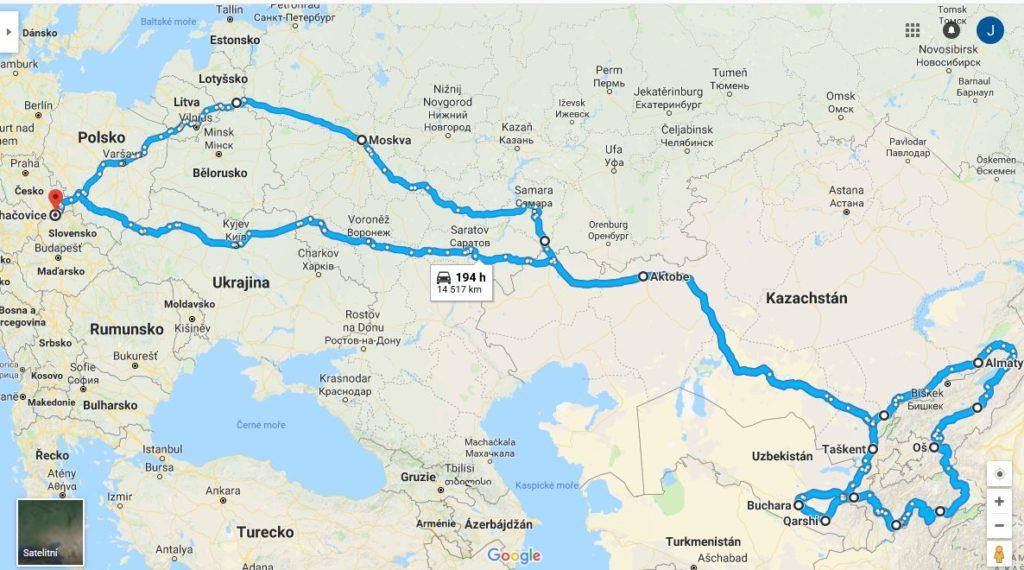 Central Asia Expedition 2018: Vyrážíme! 2